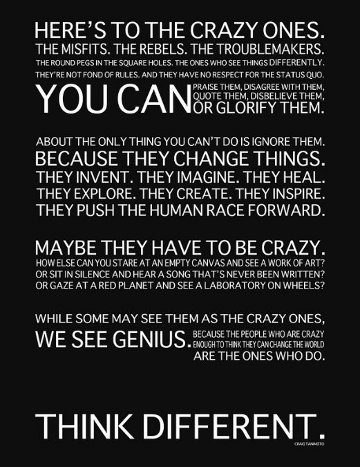the innovators credo